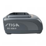 Akumuliatoriaus greitasis įkroviklis Stiga EC 430 F