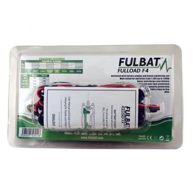 Akumuliatoriaus įkroviklis Fulbat Fulload F4 3