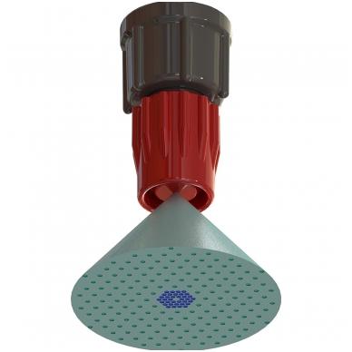 Aukšto slėgio purkštukas, plastikinis 2