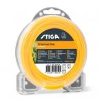 Pjovimo gija Stiga SP Square (2,4 mm.x15m., geltona, 4-briaunė)