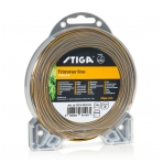 Pjovimo gija Stiga Tiger Line (2,4 mm.x15m., marga, apvali)