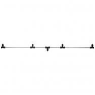 Purškimo sija, aliuminė, 120 cm su 4 purkštukais
