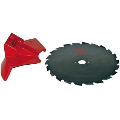 Valymo diskas su apsauga